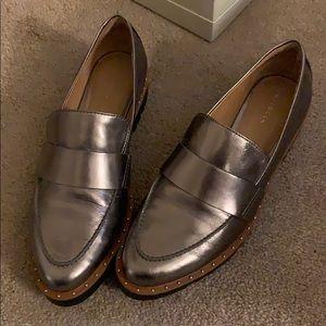 Halogen studded loafers